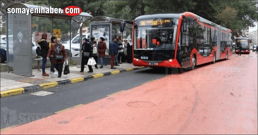 Kurban Bayramı'nda Kırmızılar ve Elektrikli Otobüsler Ücretsiz