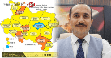 Soma'da aşılama oranı yüzde 68 lere ulaştı