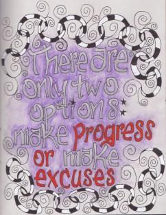 progress or excuses