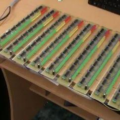 Audio Spectrum Analyzer Circuit Diagram Gibson Sg Pro Analizador De Espectro áudio 32 Hz A 16khz. | Áudio E Eletrônica