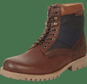 G-Star Leder Boots dunkelbraun