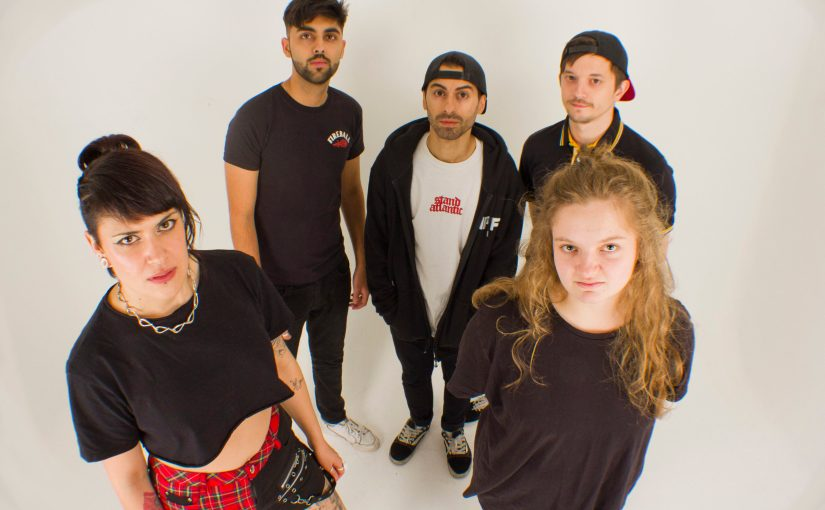 Punk band Millie Manders and the Shut Up Scream for Change in Social Justice