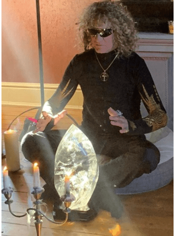 Lui Krieg shares the power of crystal sound therapy in celebration of Men's Health week