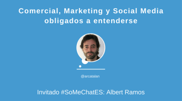 Comercial, Marketing y Social Media #somechates