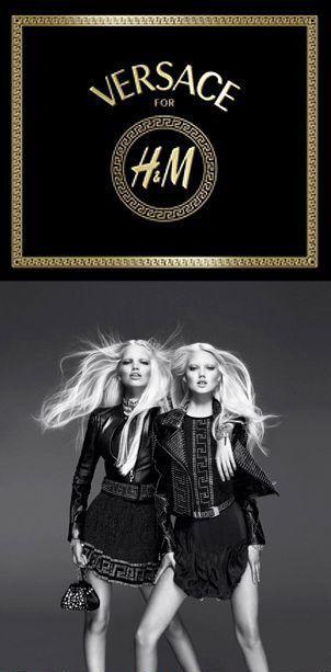 hm & versace cobranding