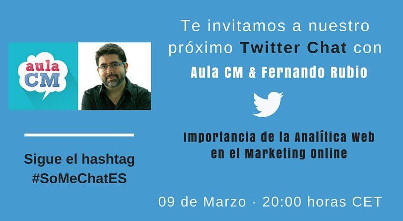 Que es la analítica web - Twitter chat con Fernando Rubio