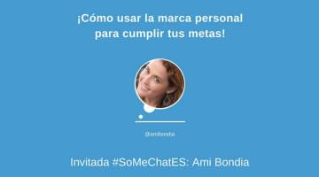 ¡Cómo hacer branding personal para triunfar! Twitter chat