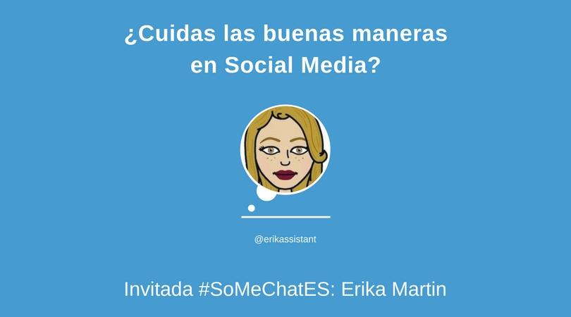 ¿Cuidas las buenas maneras en Social Media? - Twitter chat
