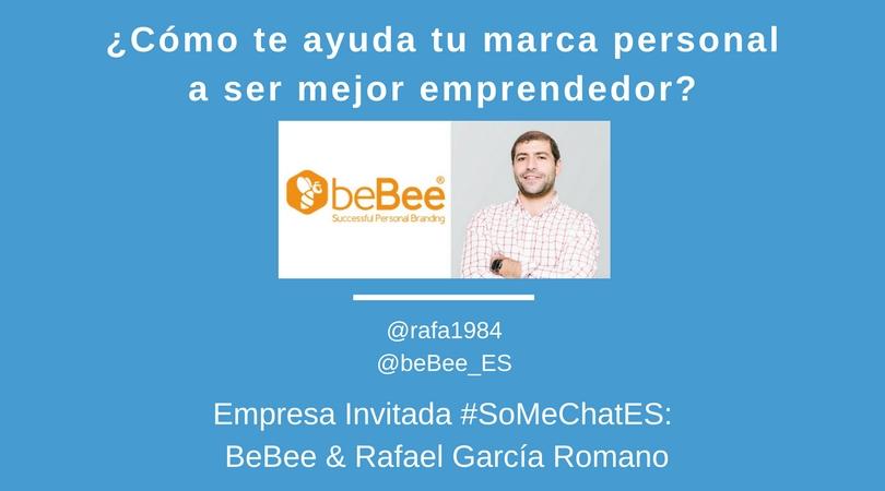 Marca personal y el buen emprendedor Twitter chat Rafael García beBee