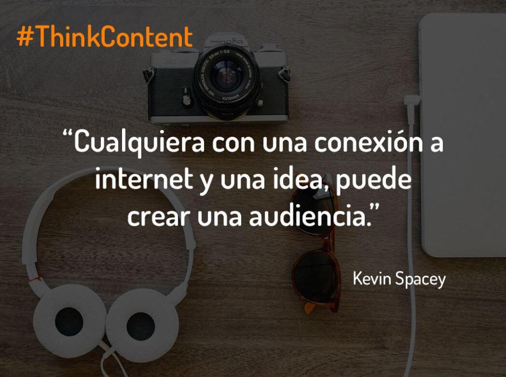 Ejemplos de microcontenidos Kevin Spacey