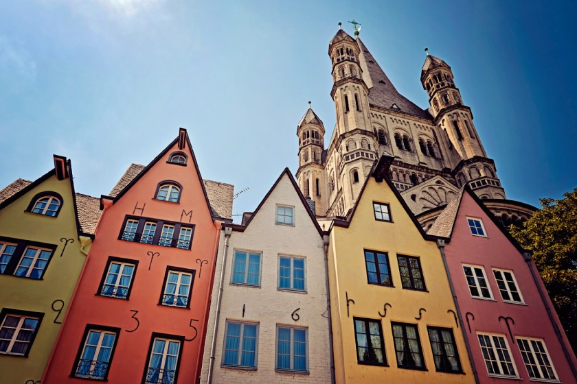 Old Town in Cologne.