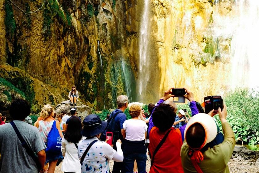 Plitvice Tourists