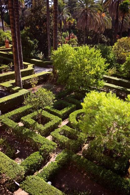 Alcázar Garden