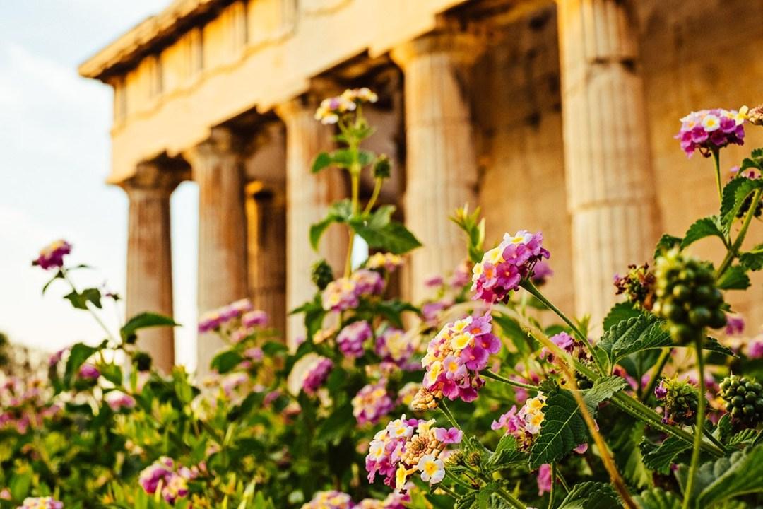 Athens Ancient Building