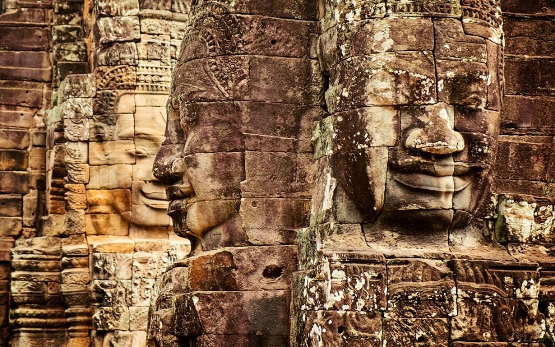 Walking on a Dream in Angkor Wat