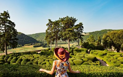 The Hanging Gardens of Marqueyssac