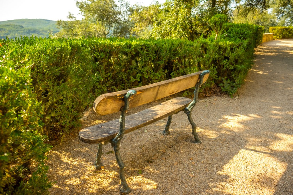 Bench at Marqueyssac
