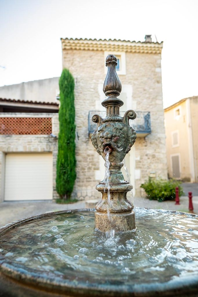 Lagnes Fountain in Provence