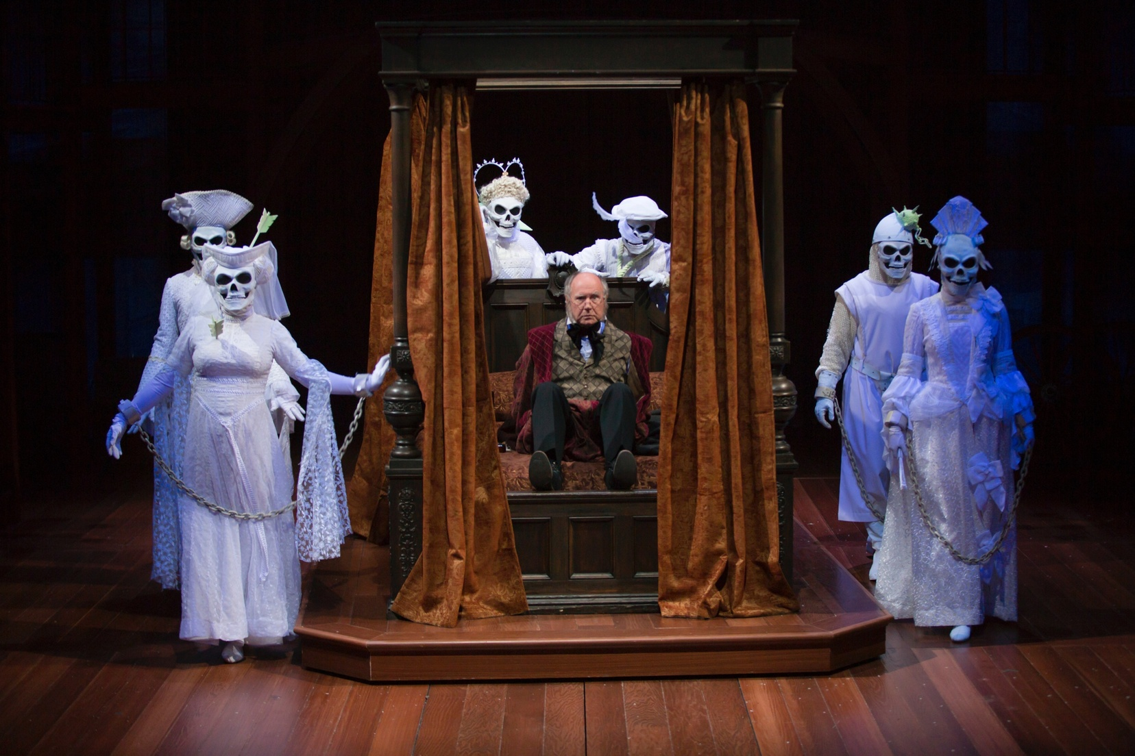 Pillow Talkings Review Of A CHRISTMAS CAROL A GHOST