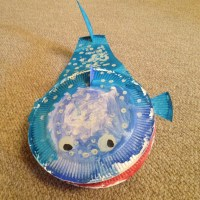 Paper plate crafts- Whale Shark