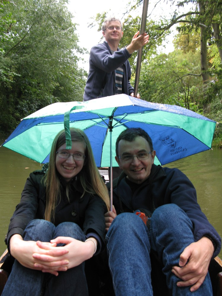 Punting in Oxford, and banjos (1/6)