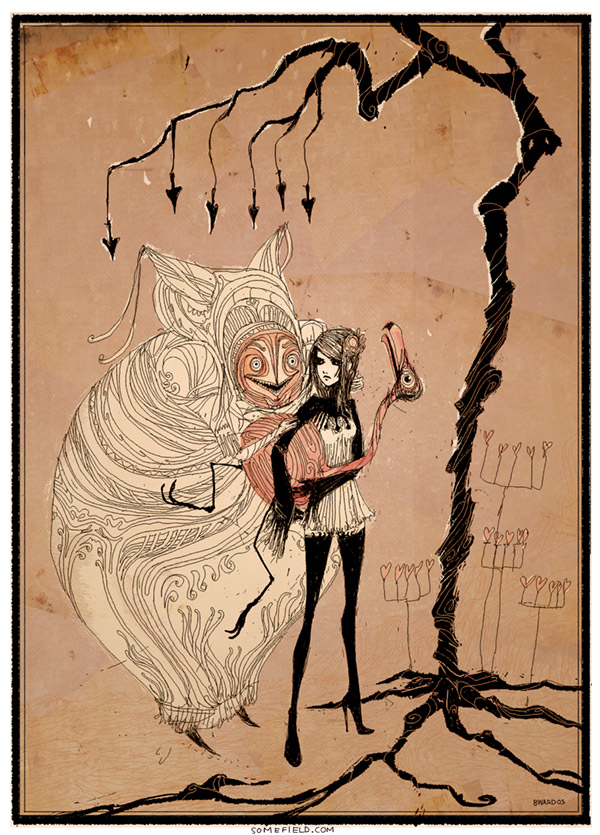 from Ward's series of Alice reimaginations