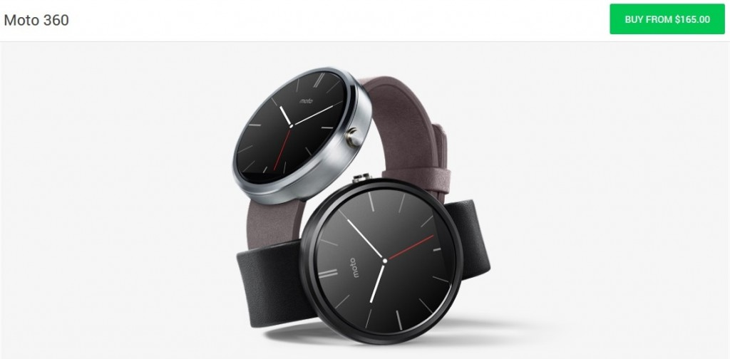 Moto 360 Smartwatch Gets a Price Drop! – SomeGadgetGuy