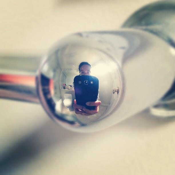 Obligatory bathroom self-portrait