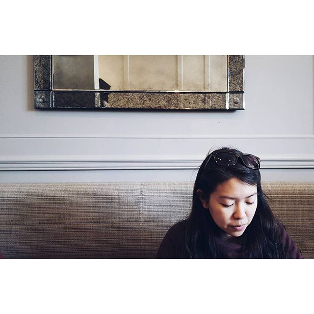 @stephotee enjoying her waffle - from Instagram