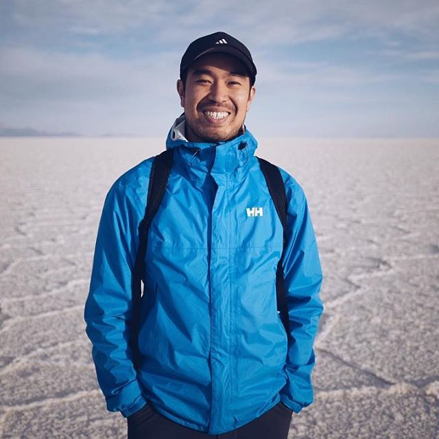 #portait in the middle of the world's largest salt flats in #bolivia @hellyhansen @adidas