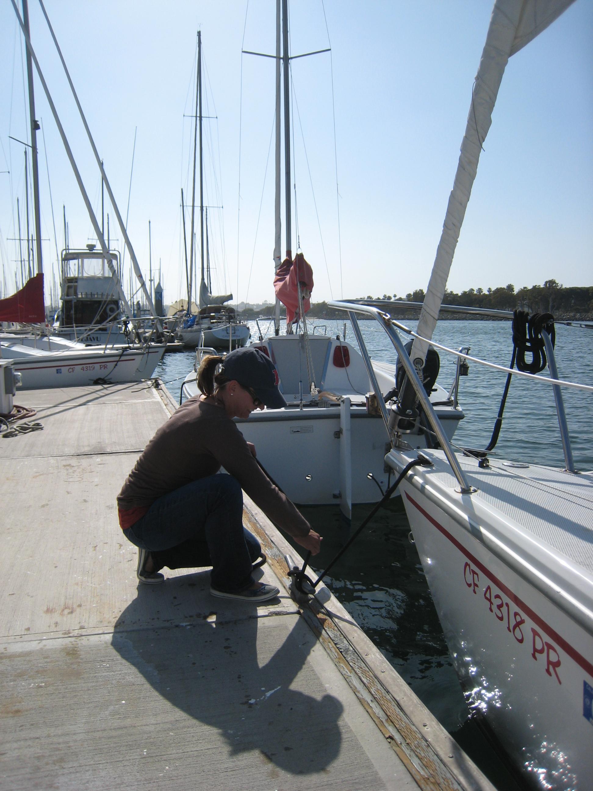 me paking boat