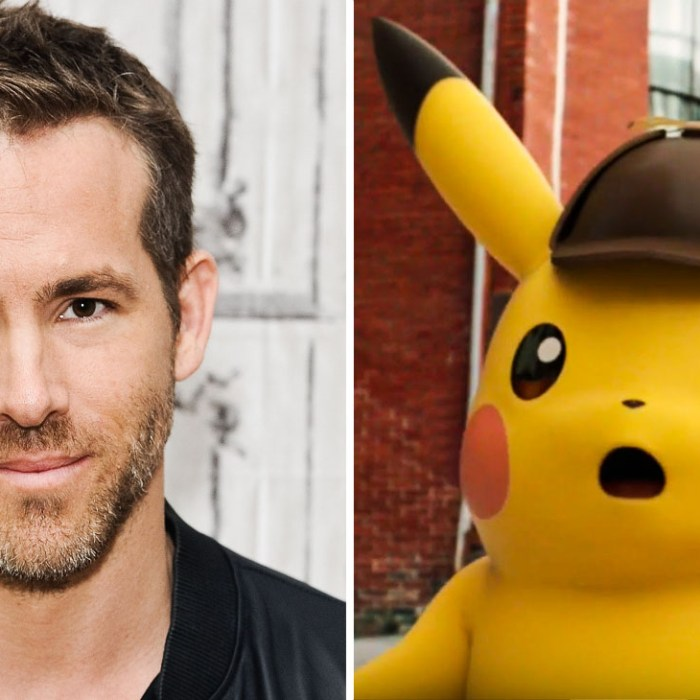 """Ryan Reynolds to Star in the Upcoming Movie """"Detective Pikachu'"""