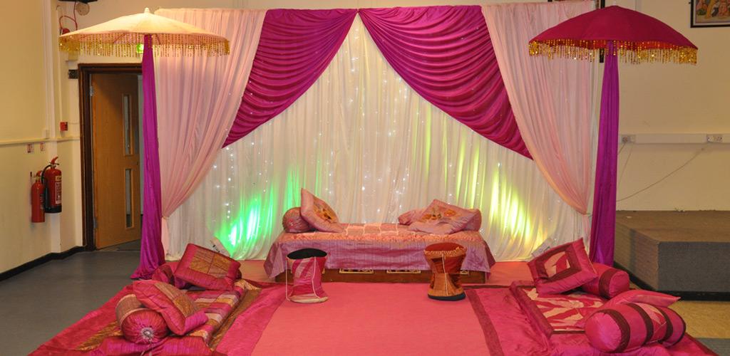Mehndi Set up  somel