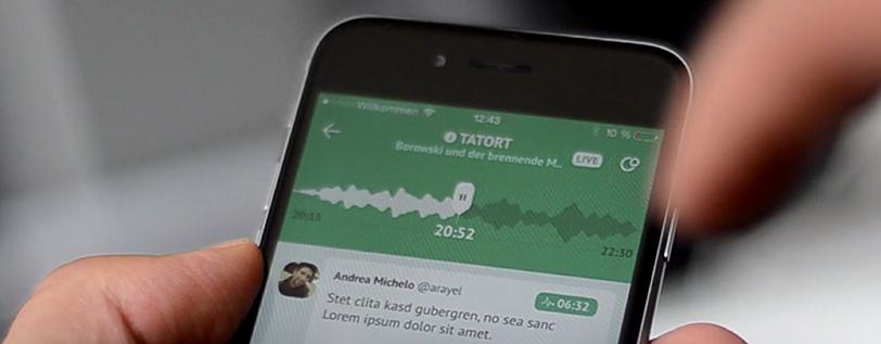 Social-TV-App von viewple