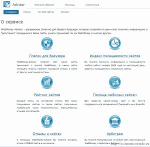 Сервис Webmoney.Advisor