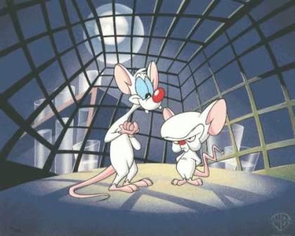 Desenhos animados anos 90 - Pinky and The Brain
