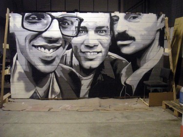 MTO (Graffiti Street art): trainspotting