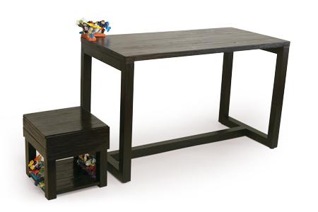 moveis reciclados - escrivaninha