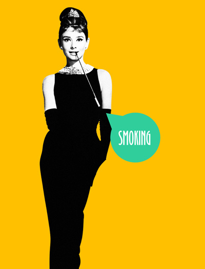 Audrey Hepburn - Smoking