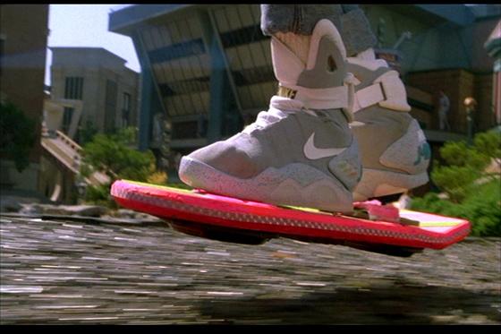 De volta para o futuro: Nike sobre o skate voador