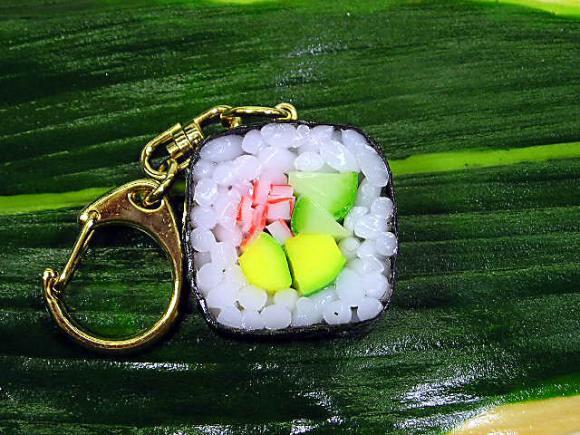 Chaveiro sushi