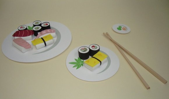 paper sushi