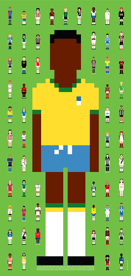 Brazilian Football Nostalgia