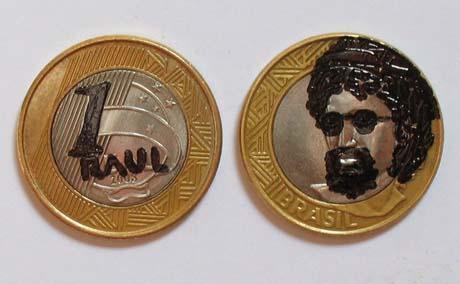 1raul - moeda de um real