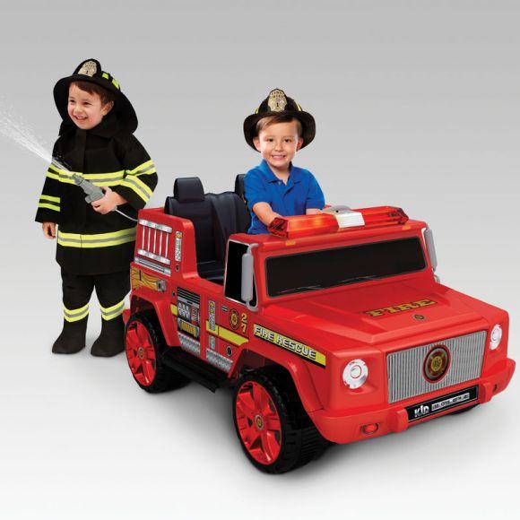Mini veículos elétricos: Carro de bombeiro
