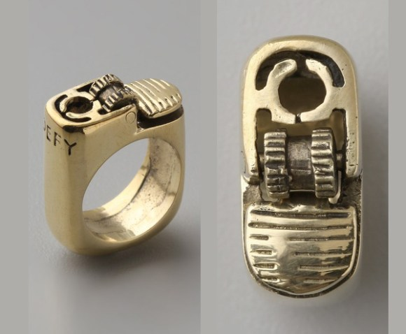 lighter ring anel isqueiro