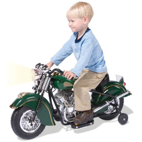 Motocicleta infantil elétrica