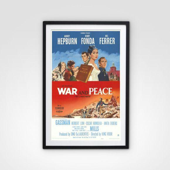 Poster Original War And Peace (Guerra e Paz)
