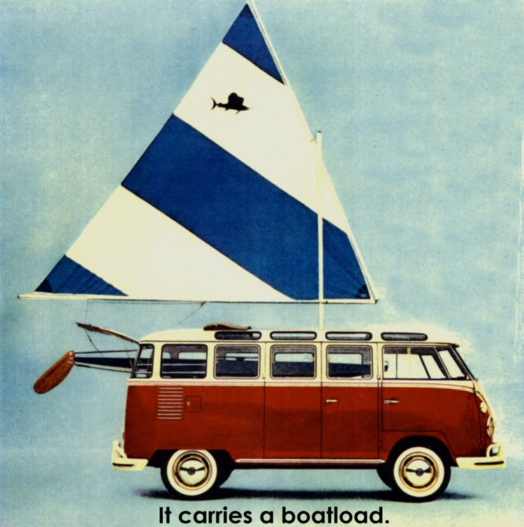 Volkswagen Kombi cartaz antigo