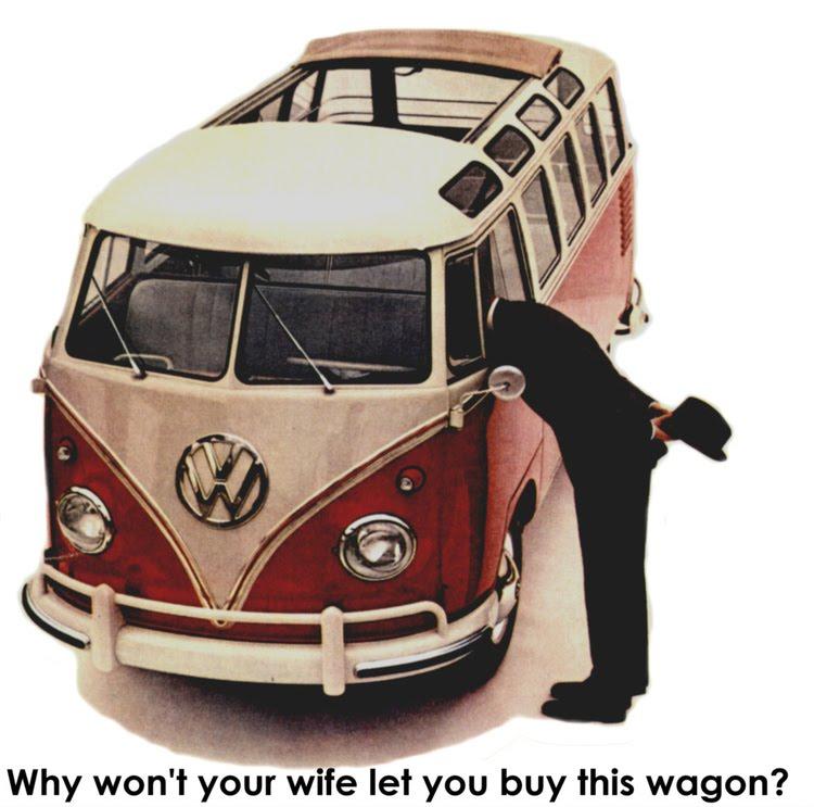 Volkswagen Kombi propaganda antiga